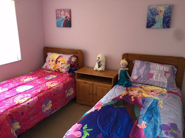 2nd floor girls room identical boys room with mickey mouse