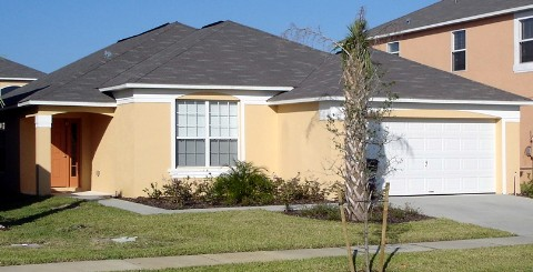 4 Bed Florida Villa sleeps 10. Private Pool & Spa. Wi-Fi. Games Room.