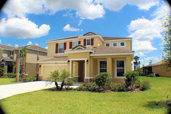 5 Bed Florida Villa sleeps 10. Private Pool/Spa. Wi-Fi. Games Room.