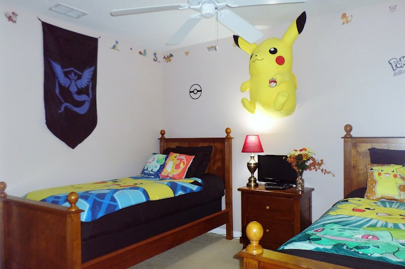 Bedroom 4 - the Pokemon Room