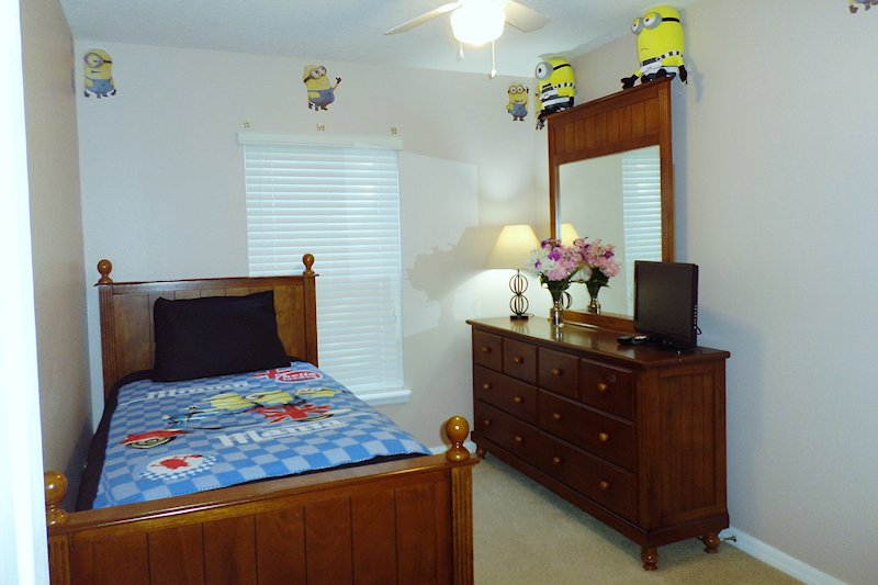 Bedroom 5 - the Minion Room
