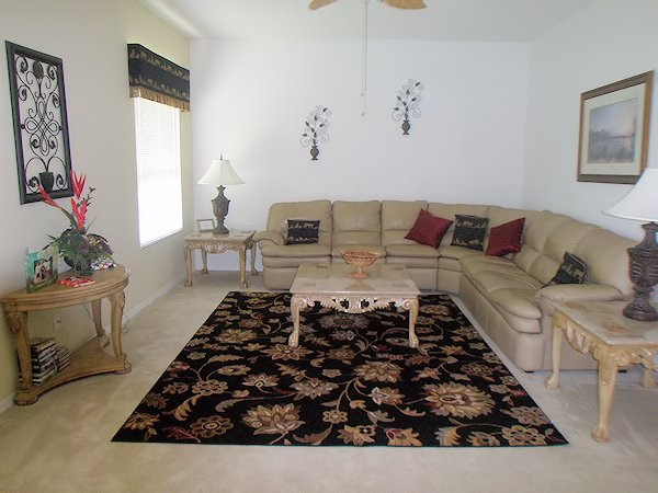 Family lounge with sofa bed