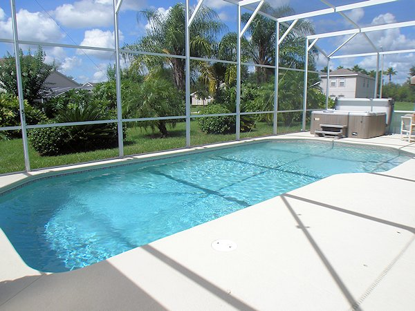 30 x 15 foot south facing pool
