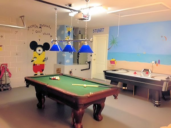 Family fun in our fantastic gamesroom